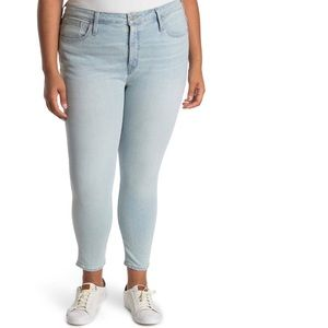 """Madewell 9"""" Mid Rise Skinny Crop Size 37p"""